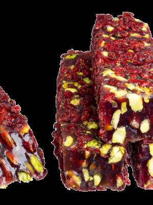 Zoetterette gedroogde cranberry pistache Turks fruit