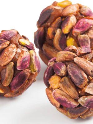 Zoetterette pistache wortel bolletje