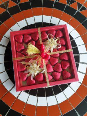 Hartjes chocolade box