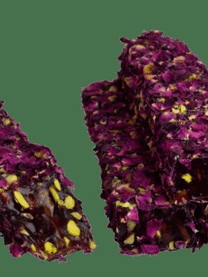 Zoetterette  gul yaprakli Antep fistikli lokum