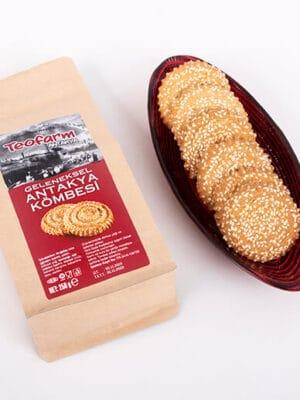 Teofarm Natuurlijke sesam koekjes 250 gr