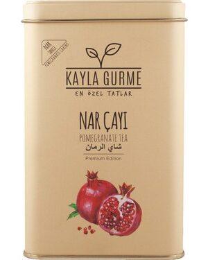 kayla Granaatappel thee in blik 150 gr