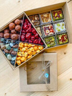 Zoetterette Giftbox dragees en Turks fruit